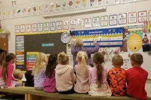 classwork with children